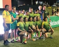 Кубанские регбистки успешно выступили на международном турнире в Дубае среди клубных команд