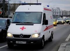 При ДТП с микроавтобусом в Кузбассе пострадали 16 человек