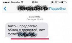 """8 тысяч рублей лишилась элистинка, перейдя по ссылке в SMS """"предлагаю обмен с доплатой"""""""