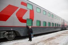 В январе-апреле 2018 года между Санкт-Петербургом и Москвой пустят дополнительный двухэтажный поезд