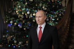 Путин поздравил россиян с Новым годом (видео)