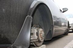 В Новочеркасске задержан подозреваемый в краже автомобильных колес