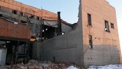 В Копейске обрушилось здание котельной