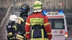 На юго-востоке Москве загорелся экскурсионный автобус, перевозивший школьников
