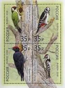 Краснокнижные птицы появились на почтовых марках