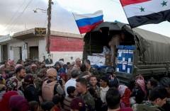 В Дамаске при обстреле пунктов раздачи гумпомощи погибли два человека