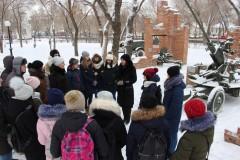 В Чечне прошла экскурсия в рамках акции «Уроки мужества»