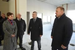 Мурат Кумпилов посетил строящийся в Майкопе диагностический центр