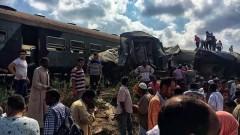 При столкновении поездов в Египте погибли 12 человек