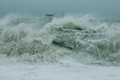 На Черном море в районе Большого Сочи ожидается сильный шторм
