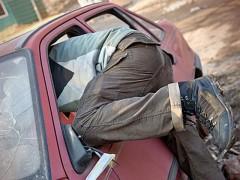 Жителя Элисты заподозрили в краже из автомобиля