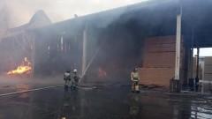В Нижнем Новгороде локализован пожар на складе ДОК