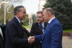 Глава Адыгеи и посол Италии в России провели переговоры