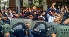 В Ереване оппозиция продолжает акции протеста