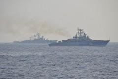 Корабли Черноморского флота отправились на учения в Средиземном море