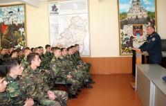 Глава донского ГУФСИН встретился с учащимися кадетского корпуса в Новочеркасске