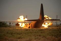 В США потерпел крушение транспортный самолет C-130, девять человек погибли