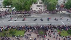 Невинномысск ярко и красочно отметил День Победы