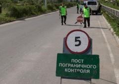 В районе донского хутора Гусев Чертковского района выставлен пост пограничного контроля