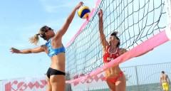 Краевые соревнования по пляжному волейболу начинаются в Анапе