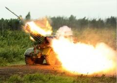 В горах Дагестана проходит совместное учение артиллеристов ЮВО