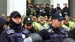Полиция оцепила здание Верховной рады
