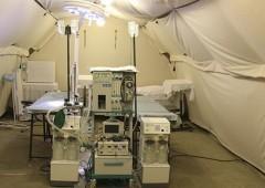 На Черноморском флоте провели учение по развёртыванию полевого госпиталя