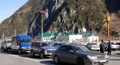 На российско-абхазском участке границы заметно вырос пасажиропоток