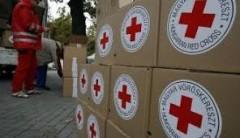 Около 111 тонн «гуманитарки» Красный Крест отправил в Донбасс