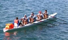 Донские гребцы переплывут через Черное море на весельной лодке
