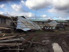 Военнослужащие ЮВО очистили после урагана свыше 260 домовладений и частных подворий на Кубани