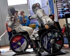 Краснодарец Артур Юсупов успешно выступил на Кубке мира по фехтованию на колясках в Польше