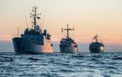 В порт Одессы зашли корабли военно-морской группы НАТО