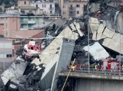 В Генуе число погибших при обрушении моста увеличилось до 39