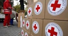 Красный Крест отправил в Донбасс 11 грузовиков с гуманитарной помощью