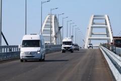 Трафик по Крымскому мосту значительно превысил годовой показатель паромной переправы