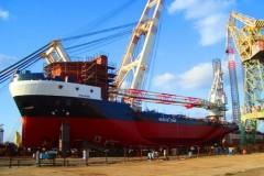 CNRG завершило строительство кранового судна для Dragon Oil