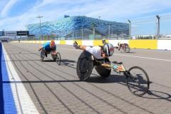 На трассе «Сочи-Автодром» пройдет IV Международный полумарафон на спортивных колясках Рецепт-Спорт
