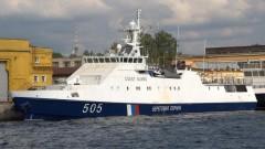 В Краснодарском крае капитан катера, не подчинившийся требованиям пограничников, арестован на 10 суток
