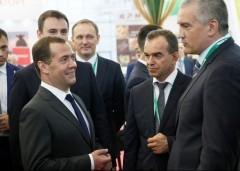 Дмитрий Медведев поддержал инициативу Вениамина Кондратьева о создании селекционного центра на Кубани