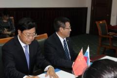 Калмыкию с рабочим визитом посетила делегация китайских полицейских