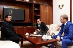 Cтивен Сигал пообещал популяризировать Кубань для киноиндустрии