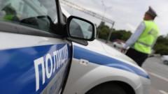 В Петербурге автобус протаранил стоявшую маршрутку
