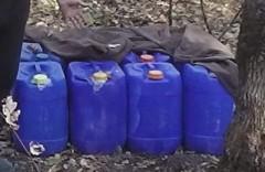 Донские пограничники пресекли контрабанду 400 л спирта