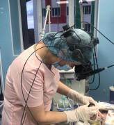В Перинатальном центре Нальчика провели операцию на глазах новорожденному с весом 495 граммов