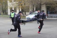 Завтра в Элисте состоится комплексная полицейская эстафета