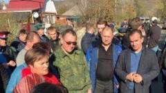 Губернатор поручил предоставить временное жилье людям, чьи дома пострадали от ЧС