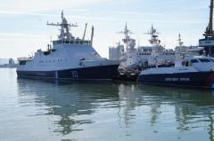 Пограничные сторожевые корабли «Кизляр» и «Сыктывкар» прибыли в Новороссийск