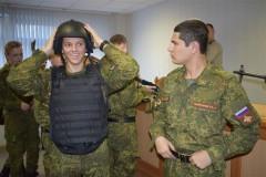 Сотрудники СОБР провели «урок мужества» для  юных ставропольцев