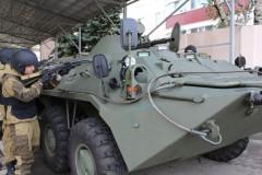 Ставропольский ОМОН завершил полевой выход
